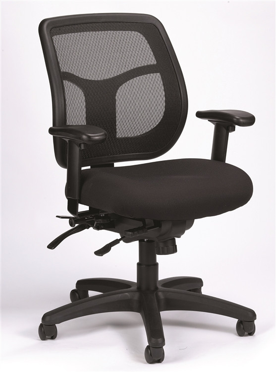 Eurotech Apollo Multi Function Chair with Seat Glider in Black