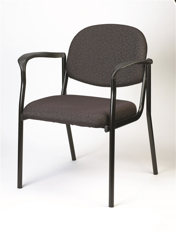 Eurotech Dakota Side Chair with Arms in Charcoal