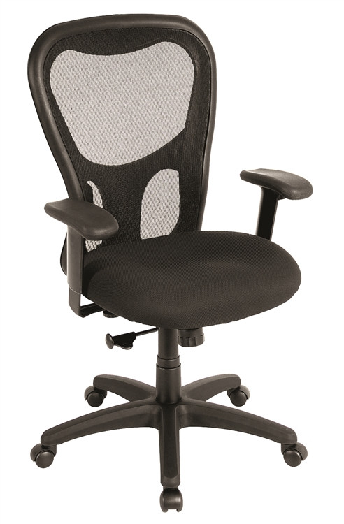 Eurotech Apollo Synchro Desk Chair in Black