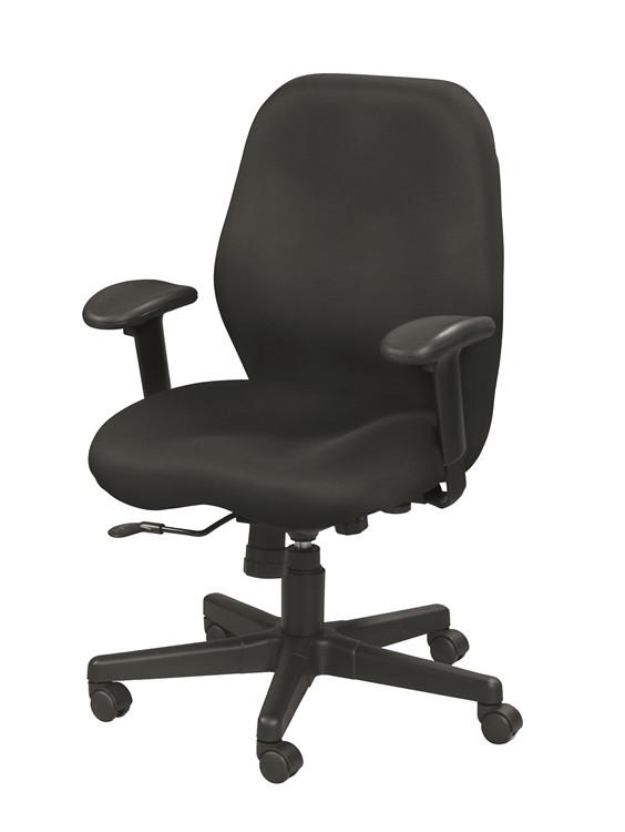 Eurotech Aviator Task Chair in Black 1