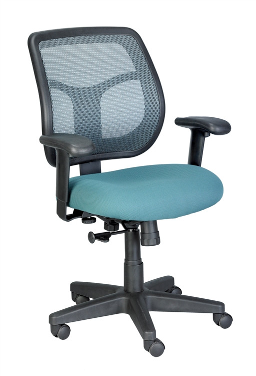 Eurotech Apollo Mid Back Task Chair in Green