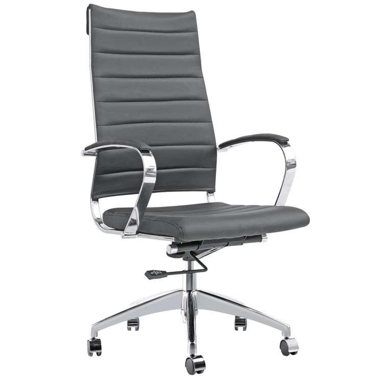 Fine Mod Sopada Conference Office Chair High Back, Black