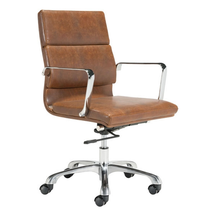 Zuo Modern Ithaca Office Chair Vintage Brown