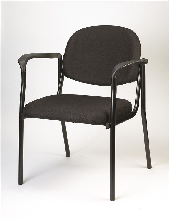 Eurotech Dakota Side Chair with Arms in Black