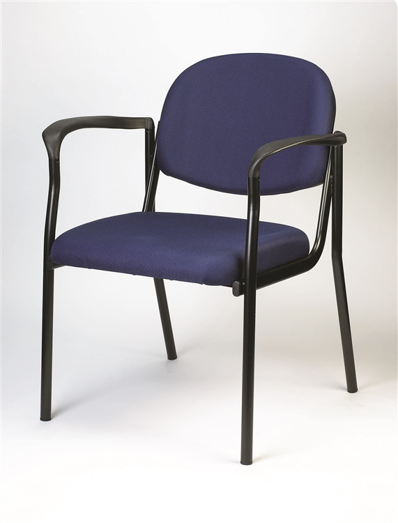 Eurotech Dakota Side Chair with Arms in Navy