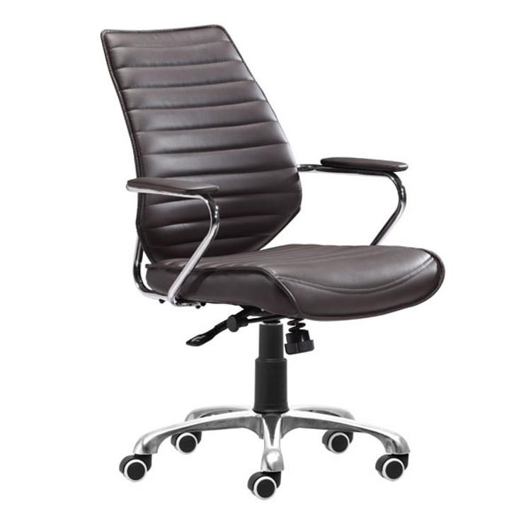 Zuo Modern Enterprise Low Back Office Chair Esp