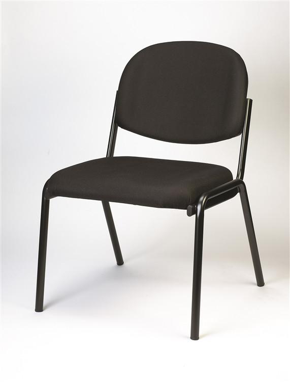 Eurotech Dakota Side Chair no Arms in Black