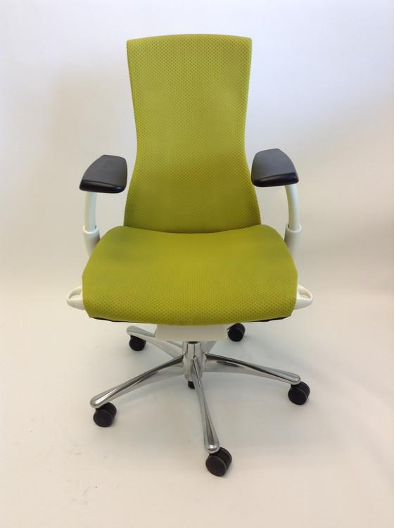 Herman Miller Embody Chair in Green