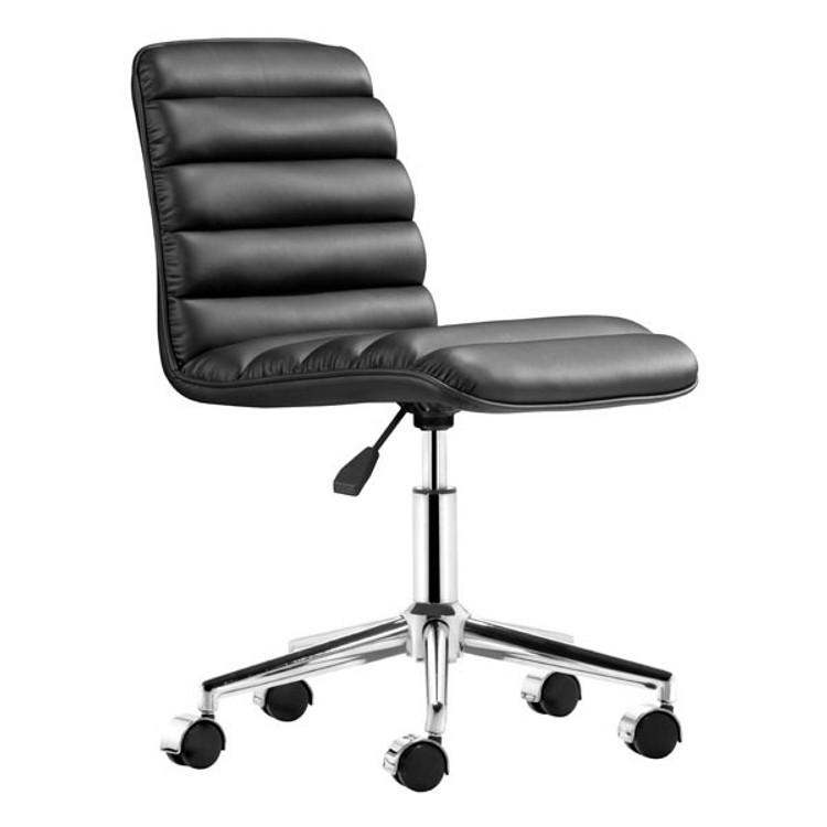 Zuo Modern Admire Office Chair Black