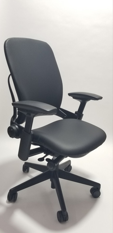 steelcase leap chair v2 in fabric seatingmind