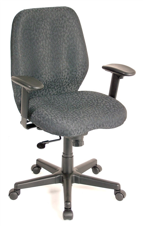 Eurotech Aviator Task Chair in Charcoal