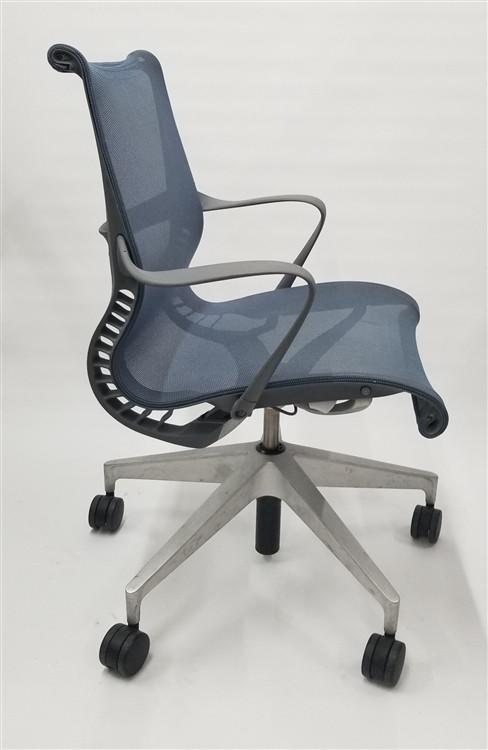 Herman Miller Setu Chair Berry Blue