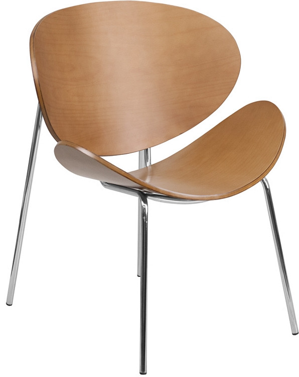 Flash Furniture Beech Bentwood Leisure Side Reception Chair