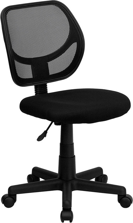 Flash Furniture Black Mesh Swivel Task Chair