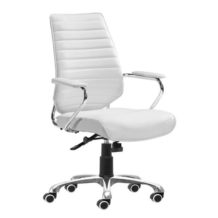 Zuo Modern Enterprise Low Back Office Chair White