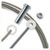 """3/16"""" - Standard Assembly for Metal Posts"""