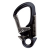Aluminum Safety Snap Hook - Black