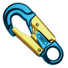 Forged Aluminum Snap Hook w/ Fixed Eye - Blue