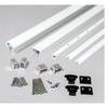 Rail Kit for Level Railings - White