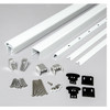Rail Kit for Stair Railings - White