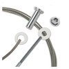 "1/8"" - Standard Assembly for Metal Posts"