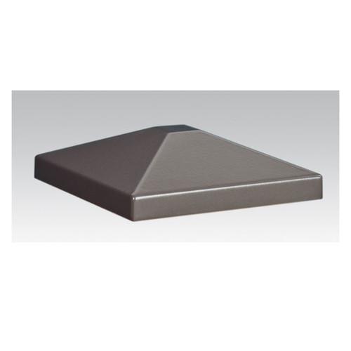 Aluminum Post Cap - Bronze Matte