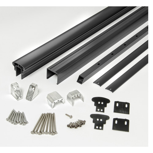 Rail Kit for Stair Railings - Black Matte