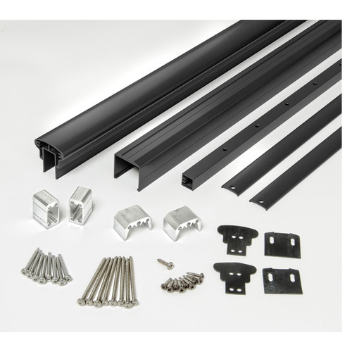 Rail Kit for Level Railings - Black Matte