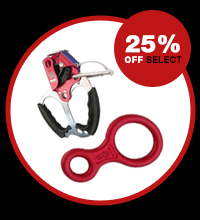 25% off select ascenders and descenders
