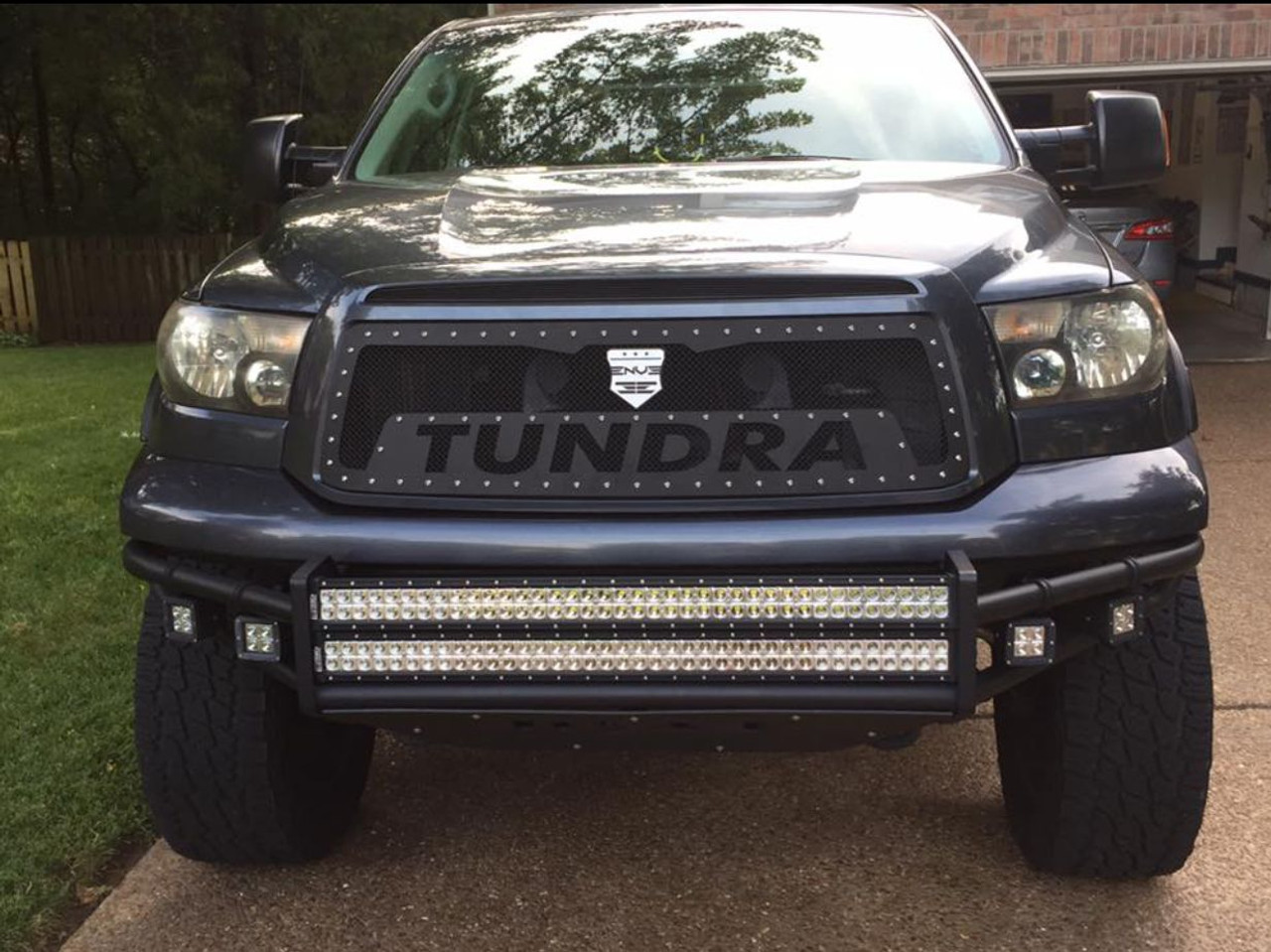 Blacked Out Rzr >> 2007-2009 Toyota Tundra TRD Style Spark - ENVE Grilles