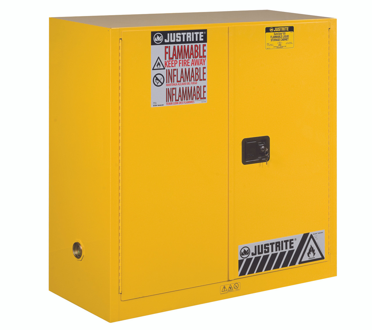 Justrite Flammable Safety Cabinet 893000 30 Gallon Manual