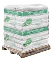 Pallet of Green Fire Ice Melt Pellets (50 x 50 lbs Bags)