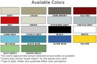 Non Slip Coating Colors