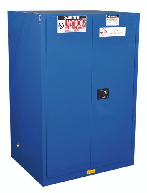Justrite Hazardous Material Storage Cabinet   90 Gallons