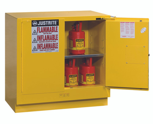 Charming Justrite 892320   22 Gallon   Undercounter Flammable Safety Cabinet