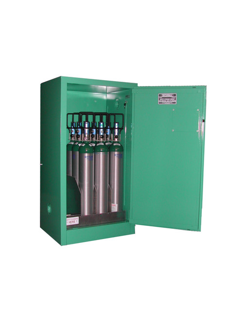 Securall Medical Gas Cylinder Cabinet - Fire Lined - 9-12 Cylinders  sc 1 st  Interstate Products Inc. & Securall Fire Lined Medical Cylinder Storage Cabinet - 9-12 Cylinders
