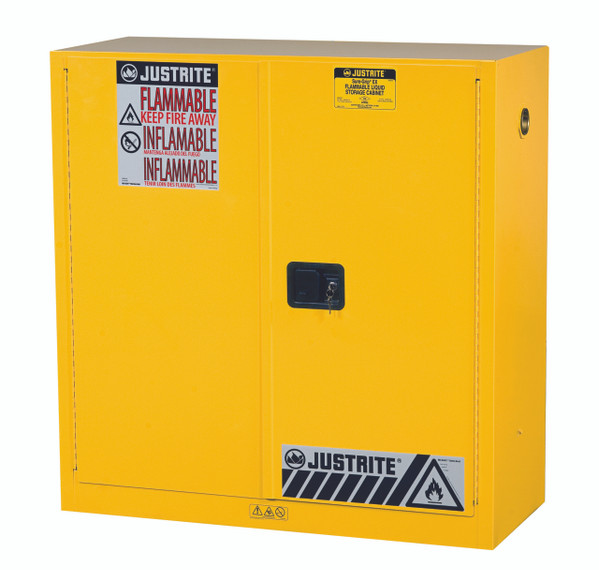 Justrite Flammable Safety Cabinet · 30 Gallon Flammable Cabinet ...