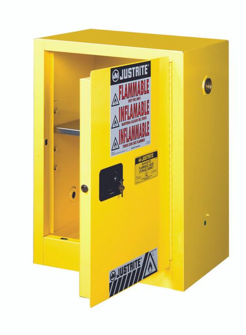 Justrite 891200 Safety Cabinet - 12 Gal Compac Sure-Grip EX