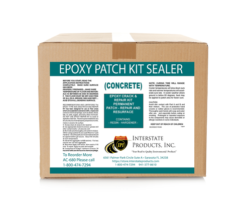 Epoxy Patch Concrete Epoxy Sealer Kit Clear