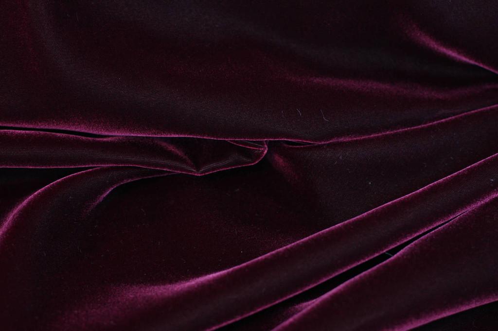 Royal Burgundy Velvet