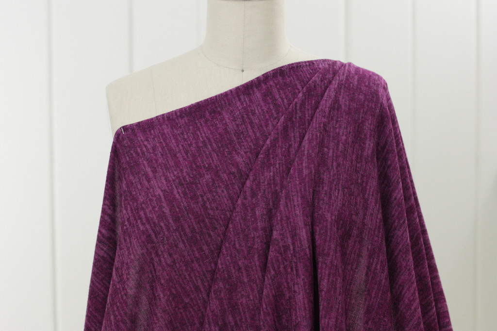 Fuchsia Sweater Knit