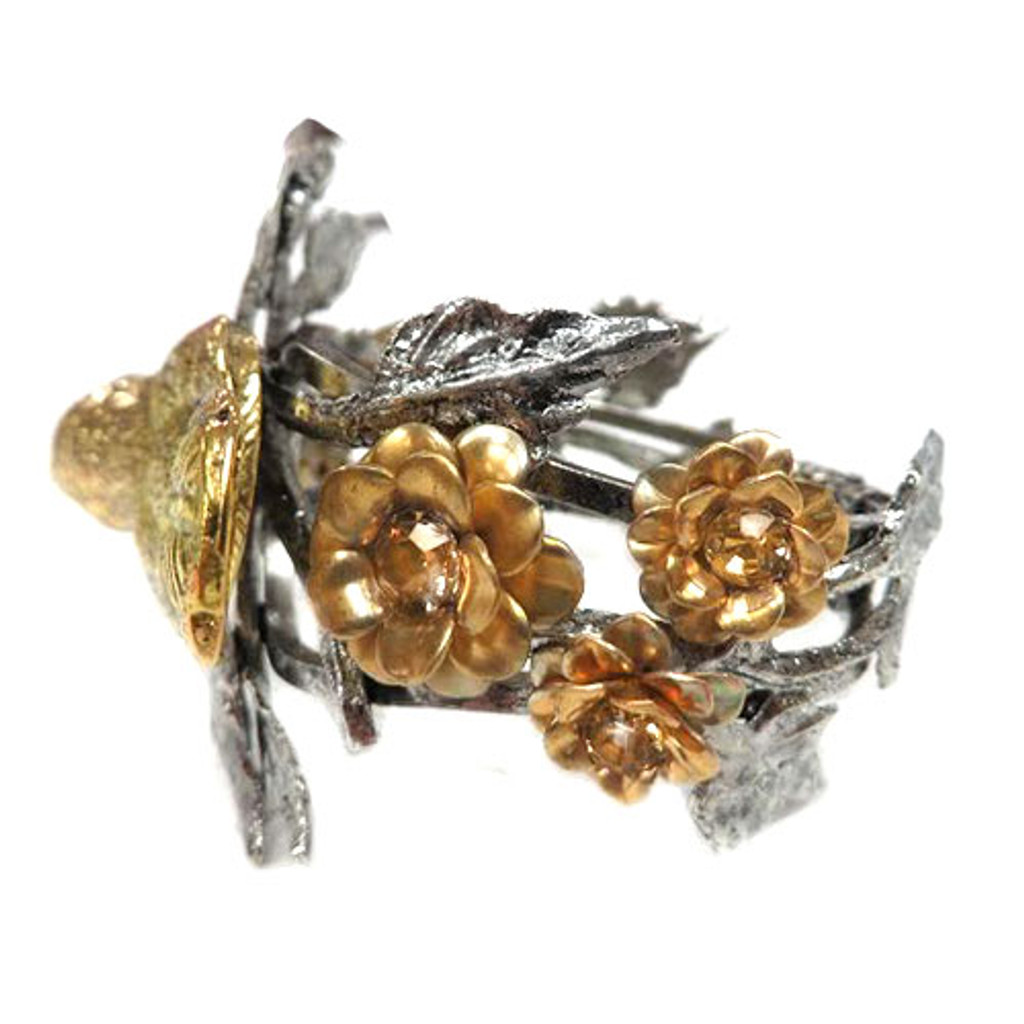 Golden Canary Vintage Statement Cuff