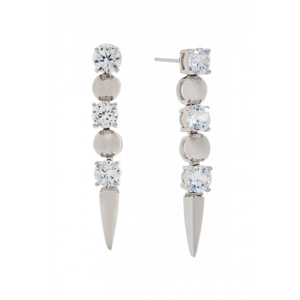 Spike and Ice Earring