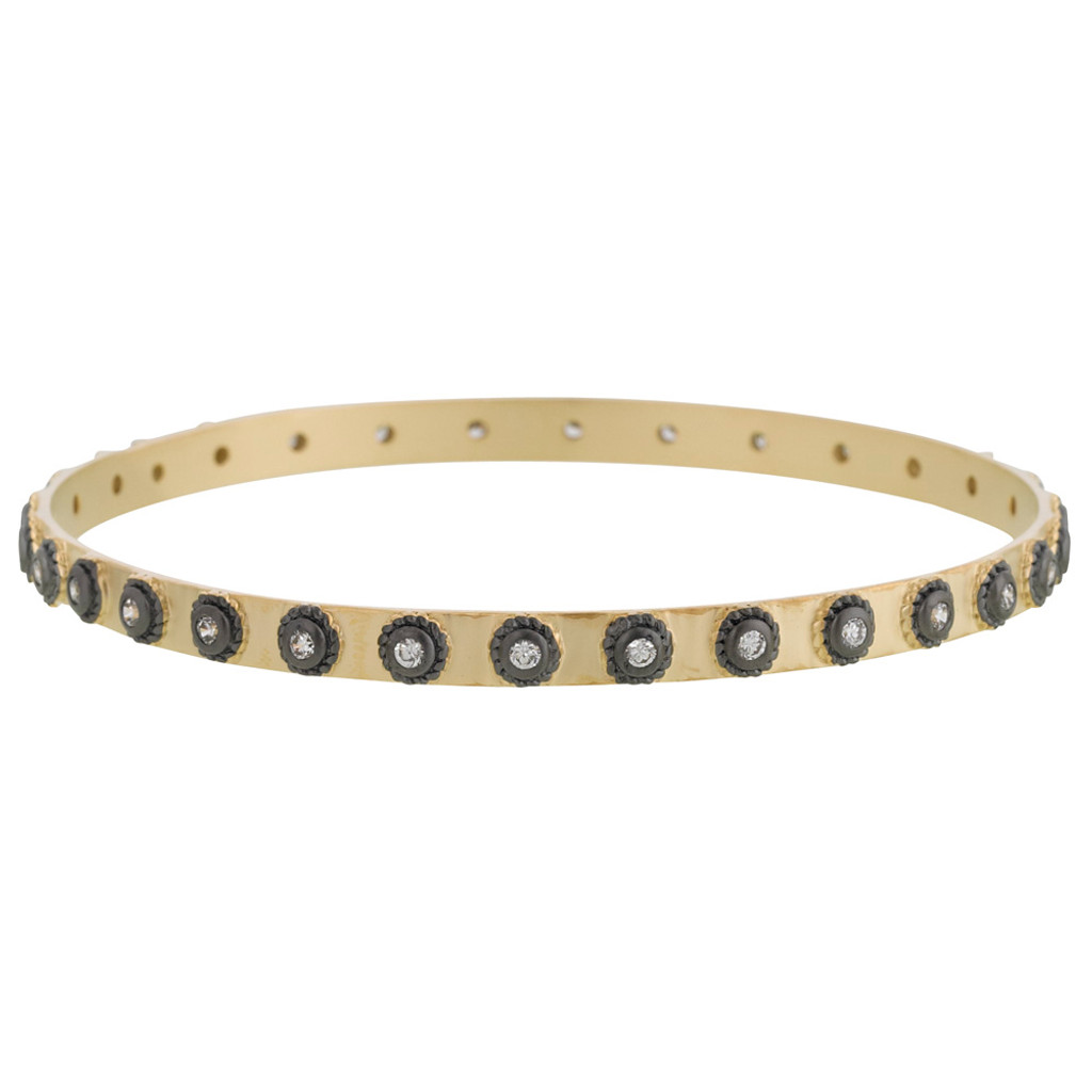 Freida Rothman's Tribeca Dot Bangle