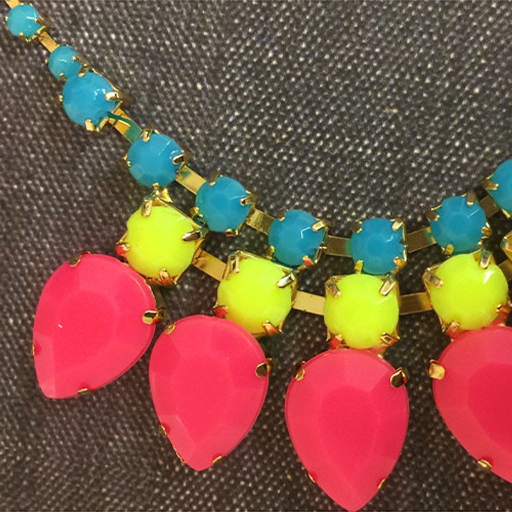 """Neon is Hot!"" Necklace"
