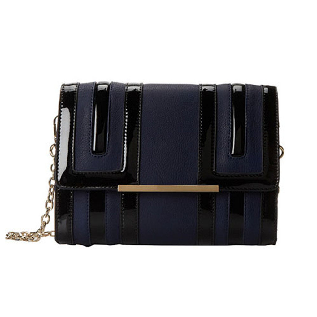 Big Buddha's Navy Temple Cross Body