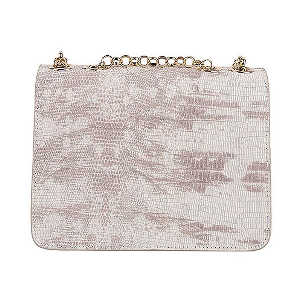 Sondra Roberts Embossed Lizard Clutch