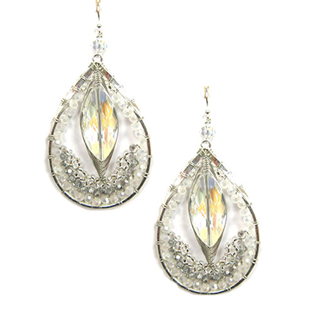 Mystical Crystal Exotic Collection Earring 1