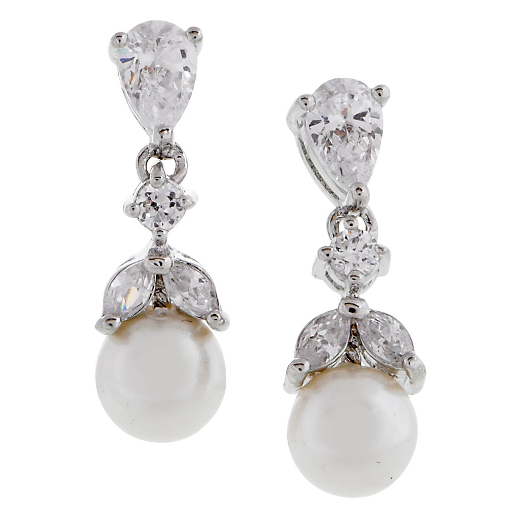 A Perfect Pearl Drop Earring