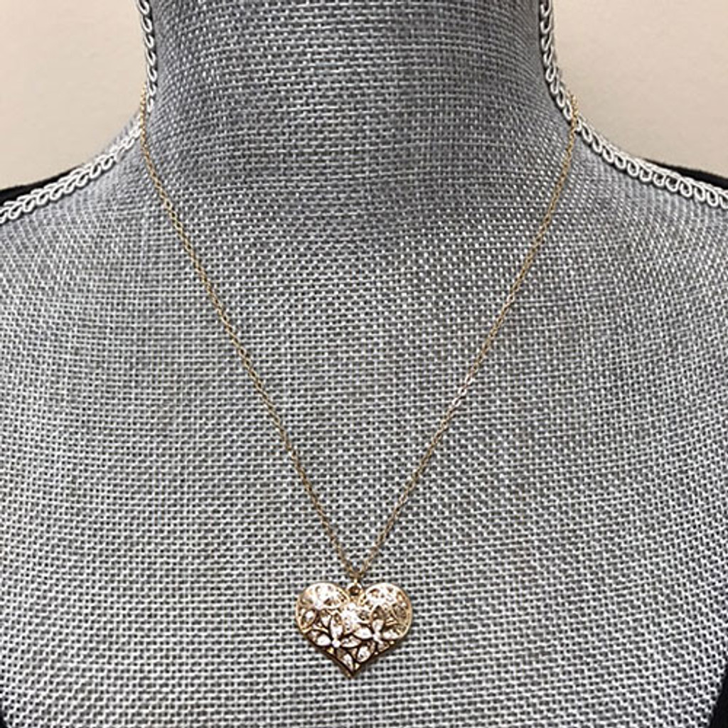 Layered Heart Necklace